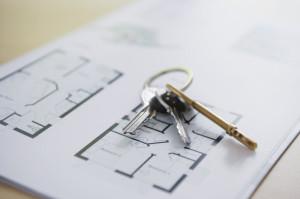 Schlüssel und Grundriss